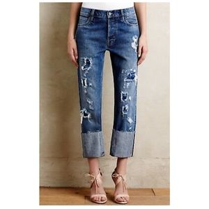 M.i.h The Phoebe Jean Mid Rise Slouch Leg 27